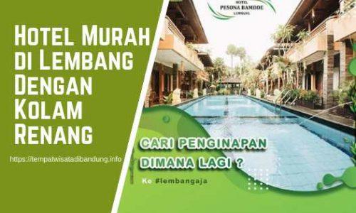 Hotel Murah di Lembang Yang Ada Kolam Renang