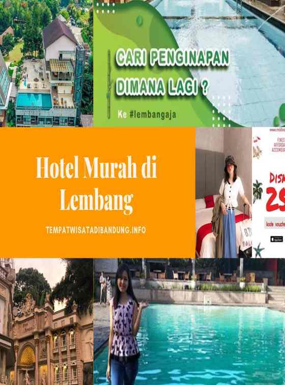 Hotel Murah di Lembang Dengan Kolam Renang