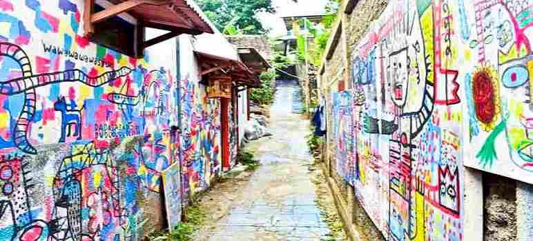 Mural di Kampung Wisata Kreatif Dago Pojok