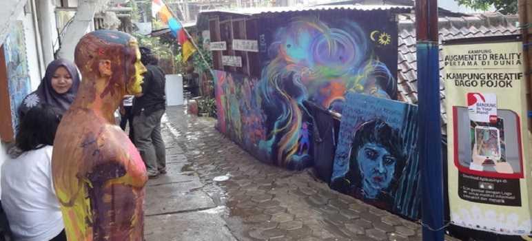 Kampung Wisata Kreatif Dago Pojok