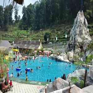 Pemandian Air Panas Ciwidey Valley Resort Waterpark Kabupaten Bandung