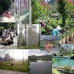 Pemandian Air Panas EmTe Highland Resort Waterpark Kabupaten Bandung