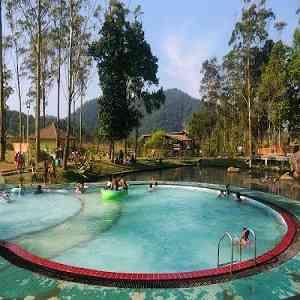 Pemandian Air Panas Kampung Cai Ranca Upas Ciwidey Kabupaten Bandung