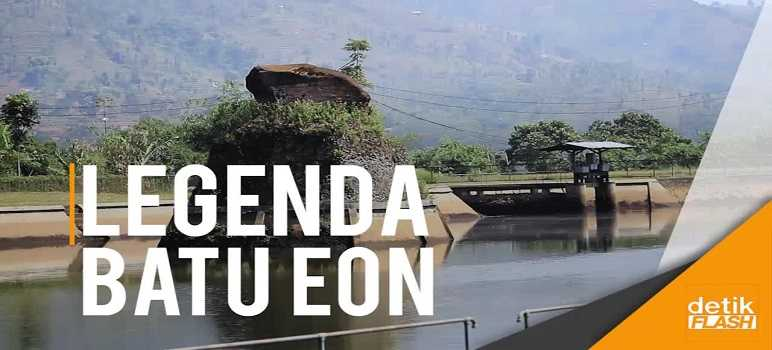 Wisata Batu Eon Desa Lamajang Pangalengan Kabupaten Bandung