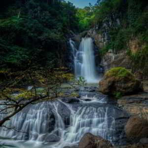 Curug Ngebul Cisitu Gunung Halu Bandung Barat