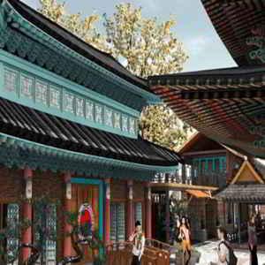 Kampung Little Korea Street Bandung