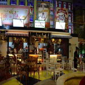 Pusat Wisata Kuliner di Transmart Buah Batu Square Bandung