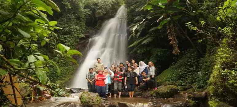 Curug Dewa Pangalengan Bandung Selatan