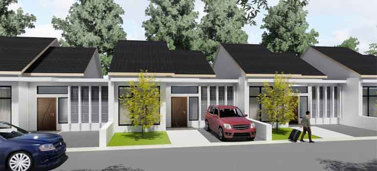 Contoh Gambar Rumah Dijual di Arcamanik Bandung Geo Asri