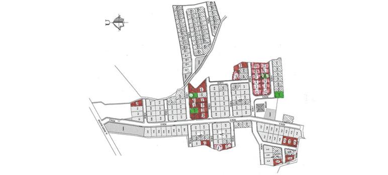 Site Plan Perumahan di Komplek Geo Asri Arcamanik Bandung