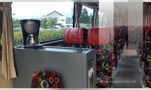 Interior Bus Pariwisata 3/4 Mawa Holiday Bandung