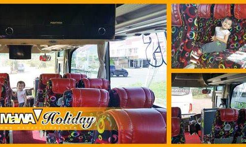 Fasilitas Sewa Bus Pariwisata Bandung Murah Meriah