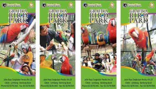 Grafika Bird Park Cikole Lembang Bandung