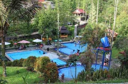 Kolam Renang Villa Palalangon Park Ciwidey Bandung