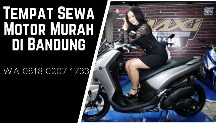 Tempat Sewa Motor di Bandung Murah, Syarat & Proses Cepat
