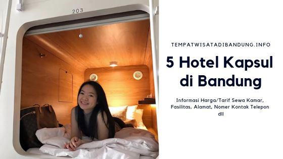 Hotel Kapsul di Bandung Murah