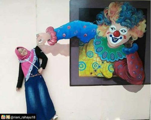 Koleksi Lukisan 3 Dimensi Mini Gurat Jelekong Baleendah Bandung