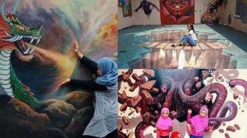 Mini 3D Art Jelekong Bandung