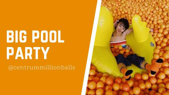 Big Pool Party Centrum Million Balls Bandung