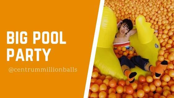 Big Pool Party Centrum Million Balls Bandung