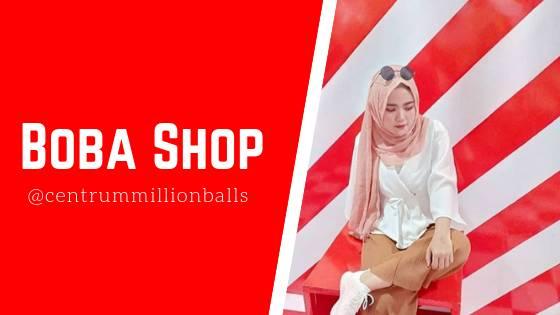 Boba Shop Centrum Million Balls Bandung