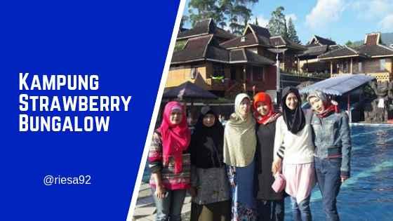 Kampung Strawberry Bungalow & Restoran Ciwidey