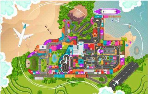 Peta Denah Bandung Champion City
