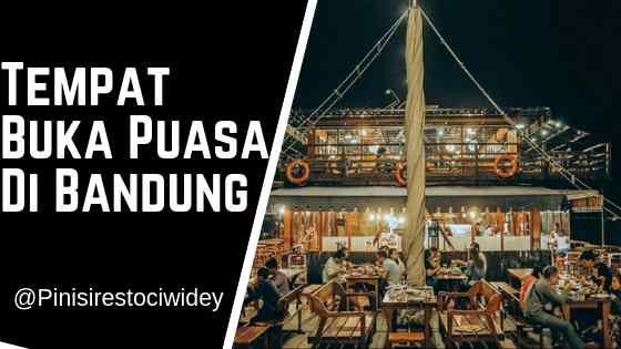 Tempat Buka Puasa di Bandung