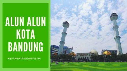Wajah Baru Alun-Alun Kota Bandung Hari Ini