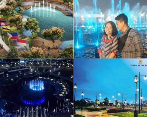 Gambar Asia Afrika Park di Kiara Artha Park Bandung