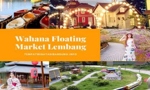 Wahana Floating Market Lembang Bandung