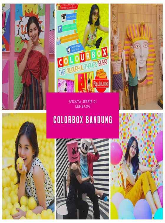 Wahana Foto Selfie Colorbox Bandung di Lembang