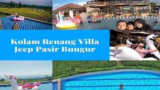 Kolam Renang Villa Pasir Bungur Ciapus Banjaran Bandung