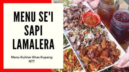 Sei Sapi Lamalera Bandung