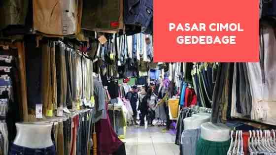 Pasar Cimol Gedebage Bandung