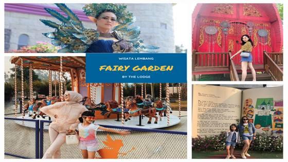 10 Gambar Fairy Garden Lembang Wahana Tiket Masuk 2020