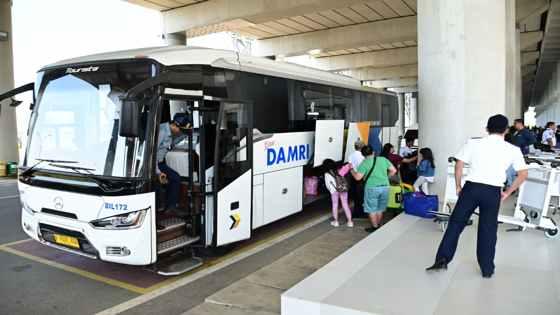 Trayek Bus Damri Bandung Dalam & Antar Kota