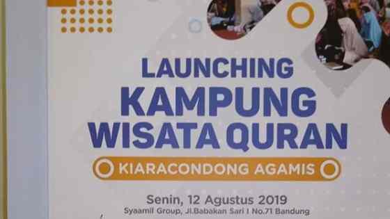 Kampung Wisata Quran Kiaracondong Bandung