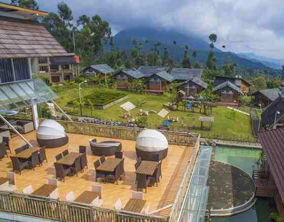 Restoran Ciwidey Vlley Resort Hotspring Waterpark Bandung