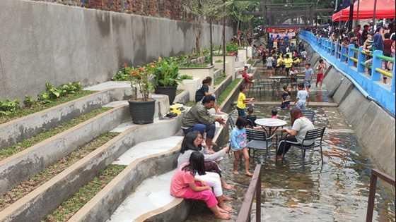 Cafe Walungan Babakan Irigasi Bandung