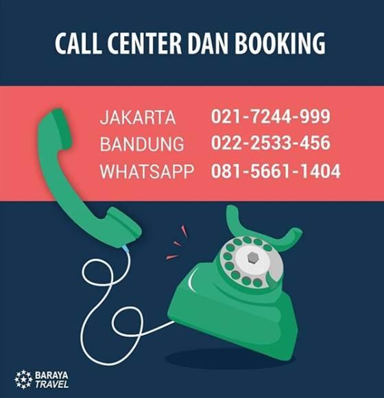 Baraya Travel Bandung Jakarta Booking Kontak