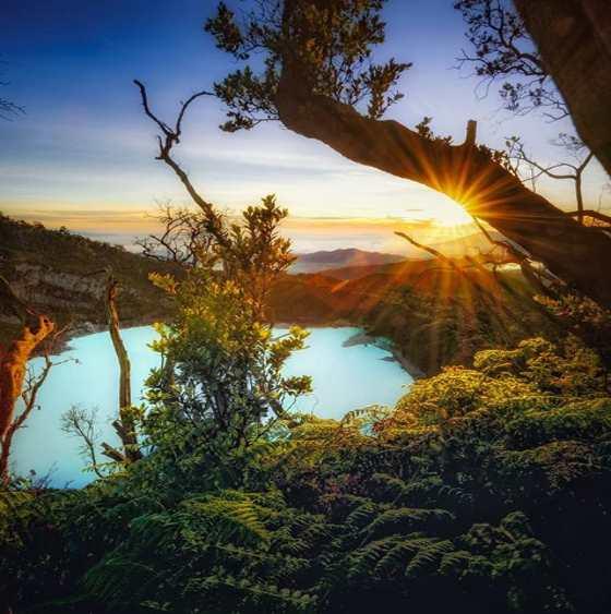 Keindahan Sunan Ibu Sunrise Point Kawah Putih Ciwidey Bandung