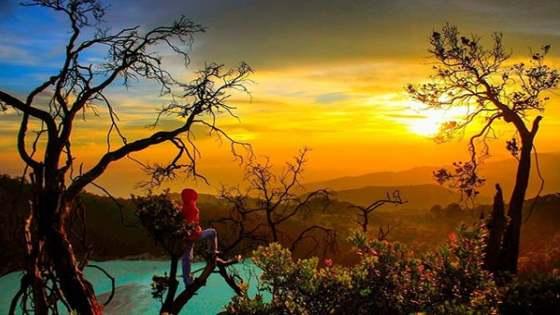 Gambar Foto Sunan Ibu Sunrise Spot Ciwidey Bandung