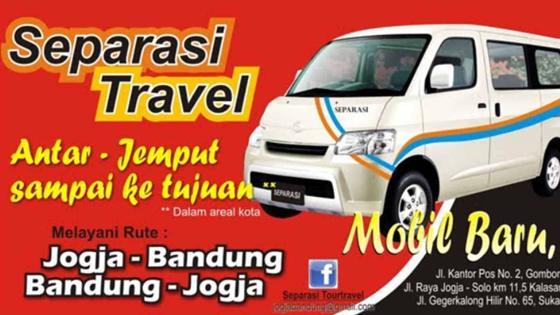 Travel Bandung Jogja Berangkat Malam / Pagi Hari