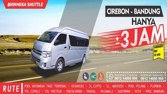 Jadwal Travel Bandung Cirebon Paling Dini Pagi Malam Hari dan Tengah Malam 24 Jam