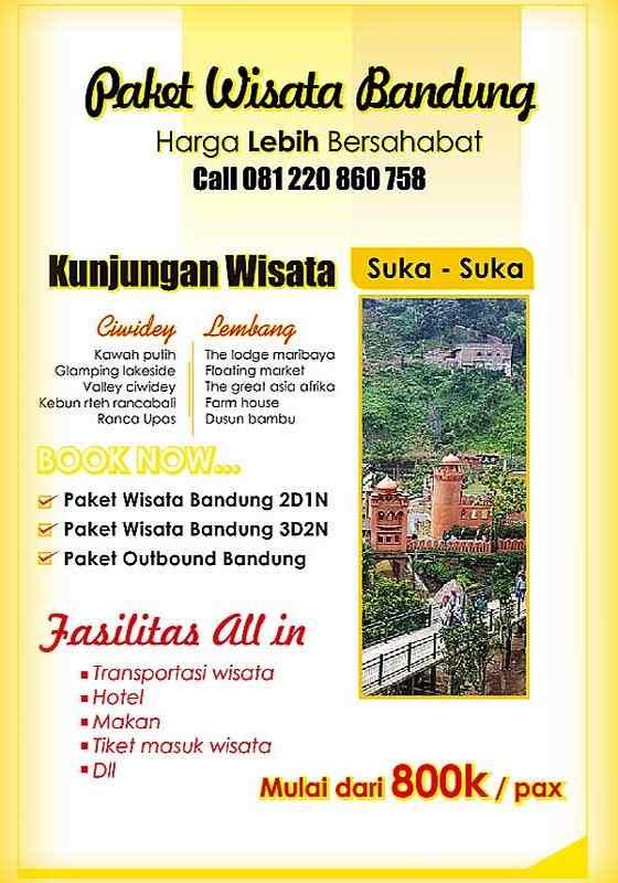 Gambar Paket Wisata Bandung Murah