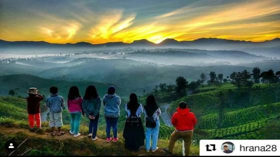 Sunrise Point Cukul Pangalengan Bandung Selatan