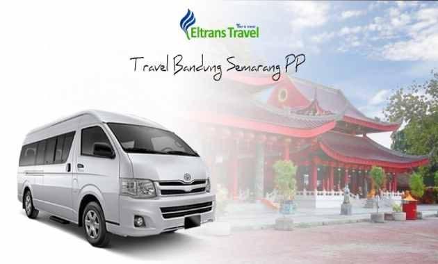 Eltrans Travel Bandung Semarang PP Harga Murah Berangkat Pagi Siang Malam Via Lewat Tol Antar Jemput Door To Door