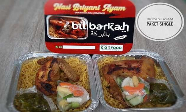 Nasi Briyani di Bandung Bil Barkah Mas Anto