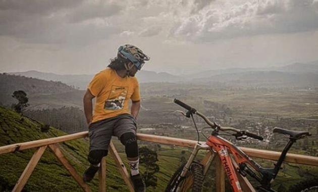 Wayang Windu Mountain Bike Park Pangalengan Bandung